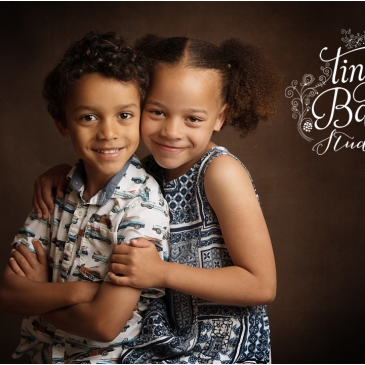 Tiny Baby Studio Childrens Photography Brother and Sister