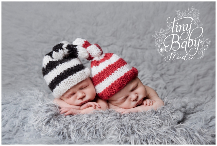 Tiny Baby Studio Newcastle Newborn Photographer twins NUFC SAFC