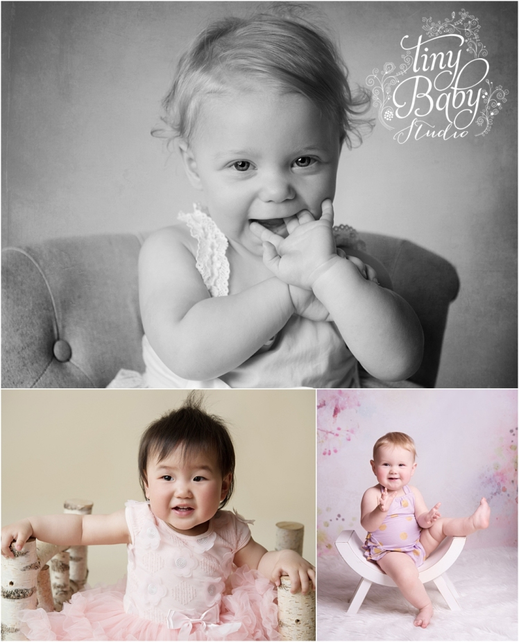 Tiny Baby Studio Newcastle Newborn Baby Photographer Newborn First Birthday Portraits