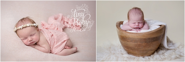 Tiny Baby Studio Newcastle Newborn Baby Photographer Newborn Pink Newborn Photos