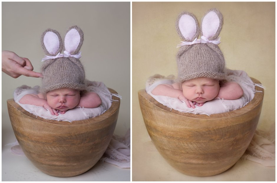 Tiny Baby Studio Newcastle Newborn Baby Photographer Supported Newborn