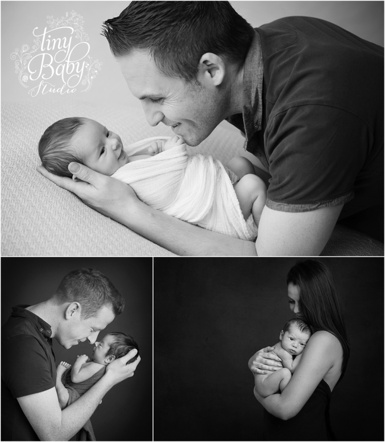 Tiny baby studio newcastle newborn photographer awake newborn