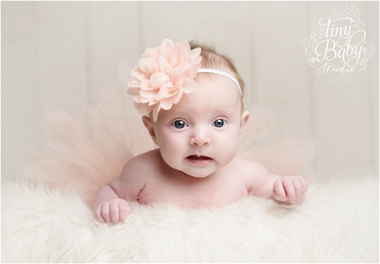 Tiny Baby Studio Newcastle newborn baby photographer baby tutu