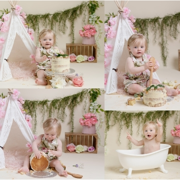 Tiny Baby Studio Newcastle Cake Smash for First Birthday Girls.jpg