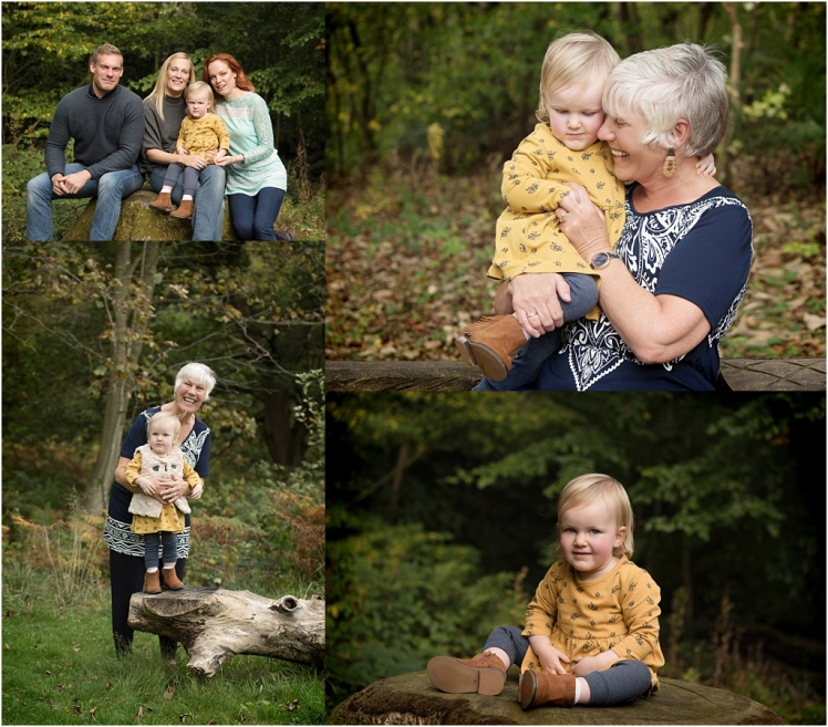 Tiny Baby Studio Newcastle Family Portraits Bolam Lake Grandparents