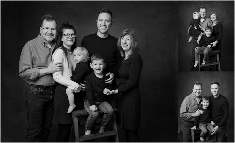 Tiny Baby Studio Newcastle Family Portraits in the studio