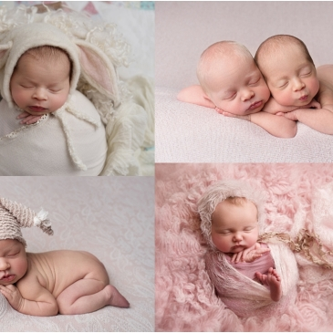Tiny Baby Studio Newcastle Newborn Baby Photographer newborn girls