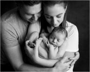 tiny baby studio newcastle newborn photographer parents in newborn photos